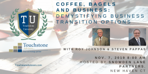 coffee bagels and business